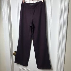 Vintage Pendleton purple black wool trouser pants